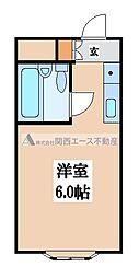 ロイヤル神路Ⅲ[5階]の間取り