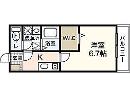 I Jigozen[1階]の間取り