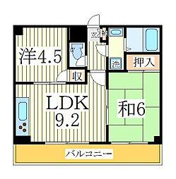 メゾン松丸[2階]の間取り