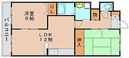 第2みのはらビル[3階]の間取り