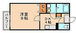 フォーレスト笹原[2階]の間取り