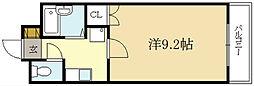 ヴァルワール伊勢田[2階]の間取り
