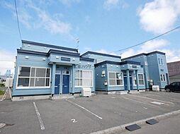 JR学園都市線 篠路駅 5.8kmの賃貸アパート