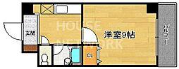 下京区/ベルビュー芦刈山[105号室号室]の間取り