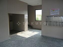クリークサイドマンションA棟[3階]の外観