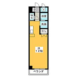 M・O・SBLD[1階]の間取り