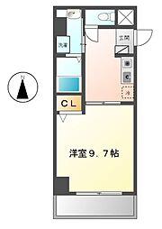 アベニュー笠寺[3階]の間取り