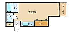 サンライフ小阪本町[302号室]の間取り