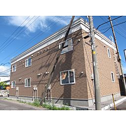 北海道函館市昭和2丁目の賃貸アパートの外観