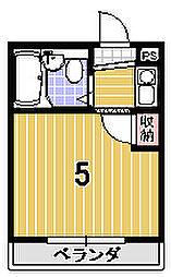 ウイングパレス15[110号室]の間取り