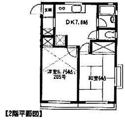 ウィル大和田[106号室]の間取り