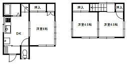 [一戸建] 埼玉県富士見市鶴馬3丁目 の賃貸【/】の間取り