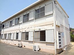 岡山県岡山市北区西崎2の賃貸アパートの外観