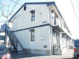 茨城県龍ケ崎市南中島町の賃貸アパートの外観