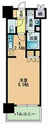 RJRプレシア南福岡[503号室]の間取り