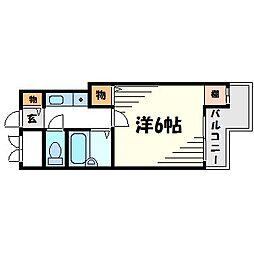 メゾン大和5号館[4階]の間取り