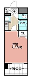 ライオンズマンション平尾第2(702)[702号室]の間取り