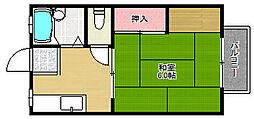 杉本ハイツ[2階]の間取り