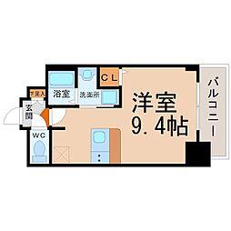 愛知県名古屋市千種区今池4の賃貸マンションの間取り