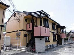 和歌山県海南市鳥居の賃貸アパートの外観