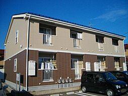 富山県富山市婦中町砂子田の賃貸アパートの外観