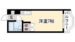 愛知県名古屋市昭和区西畑町7丁目の賃貸マンションの間取り
