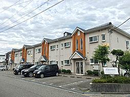 石川県金沢市額新保1丁目の賃貸アパートの外観