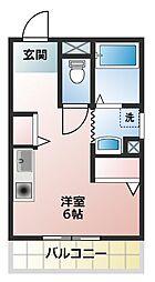 ワールドコート東加古川[2階]の間取り