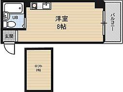 ロフティー野田[3階]の間取り