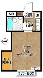 菅ハイツ(菅2丁目)[1階]の間取り