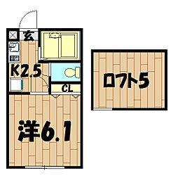 サンヴュー二俣川[1階]の間取り