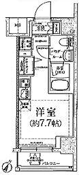 クラリッサ川崎グランデ[11階]の間取り