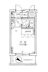 パーク・ノヴァ横浜阪東橋[2階]の間取り