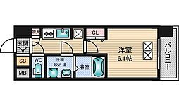 スプランディッド新大阪DUE[7階]の間取り