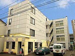 マンションP-BOX[2階]の外観