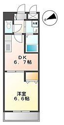 イナ グランパ2[1階]の間取り