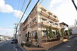 大阪府高槻市日吉台一番町の賃貸マンションの外観
