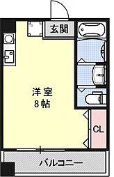 エステート三条ビル[305号室号室]の間取り