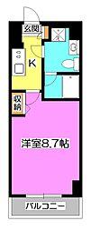 東京都練馬区向山2丁目の賃貸マンションの間取り
