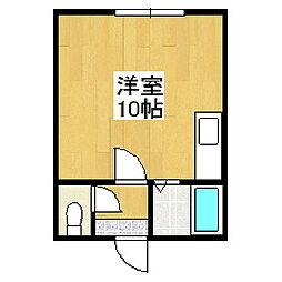 ハイツリバーサイド5[2階]の間取り