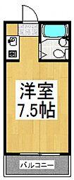 センチュリー三原[1階]の間取り