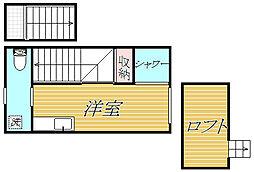 サークルハウス蓮根弐番館[2階]の間取り