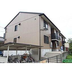 愛知県岡崎市末広町の賃貸アパートの外観