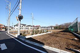 2017年12月撮影/「東久留米」駅より徒歩13分です。
