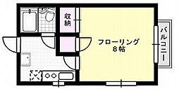 平井ハイツ[101号室]の間取り