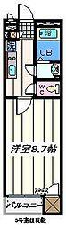 埼玉県草加市青柳7丁目の賃貸アパートの間取り