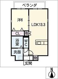 仮)四軒家マンション[1階]の間取り