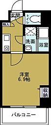 第2マンションアトラス[7階]の間取り