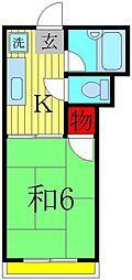 コーポスミレ[2階]の間取り