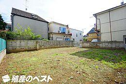 世田谷区羽根木2丁目の土地です。周辺は静かな住環境です。